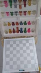Color Glass chess set