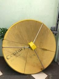 Antena Digital Century com Receptor Orbisat Digital