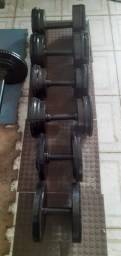 Halteres 35 kgs cada