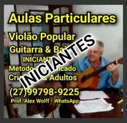 (27)99798.9225 Aulas de Violão para Iniciantes  Vitória es