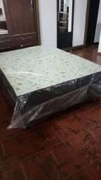 QUEIMA ESTOQUE cama casal novo de fábrica entrega