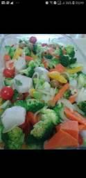 Legumes e verduras REFEIÇÕES  sob encomenda.