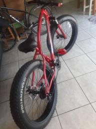 Fat bike aro 26 semi nova
