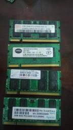 Memória DDR2 6GB Notebook