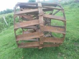 Roda gaiola para trator