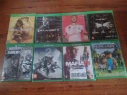 Vendo Jogos Xbox One S!!! ler anúncio!