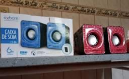 Caixas de som para jogos/escritório