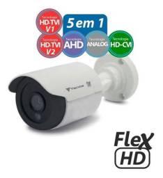 Câmera de Segurança Bullet Flex 1MP Hd CB128P, Tecvoz