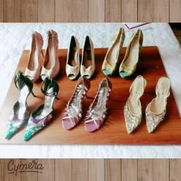 Lote de sapato muito conservado!