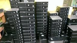 Vendo kit e lotes Monitores e Cpu HP, Lenovo, Dell, Diebold, Itautec