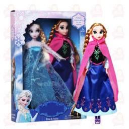 Título do anúncio: Anna e Elsa - febre congelante/ articuladas