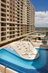 Apartamento 3 quartos com suíte e varanda em Samambaia via Solare