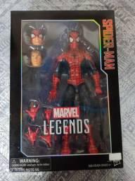 Figura homem aranha Marvel legends de luxo