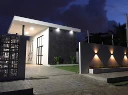Casa moderna com 3 quartos no Portal do Sol