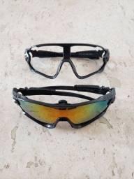 Óculos de sol esportivo (2 armações)