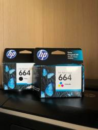 Cartuchos de tinta HP Ink Advantage 664