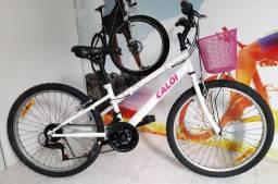 <br>Bicicleta aro 24 CALOI CECI COMFORT