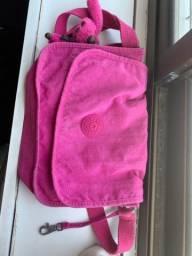 Bolsa kipling transversal rosa