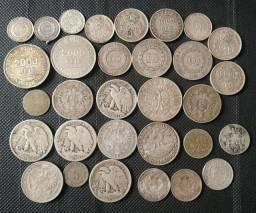 31 peças de prata (troco celular, volto diferença)