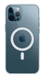 Capa transparente com MagSafe para iPhone 12 Pro Max - Novo
