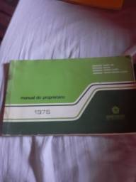 Manual original do proprietario