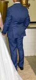 Terno(Blazer e calça ) Aramis azul meio turquesa