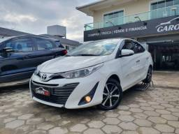 Título do anúncio: Toyota Yaris 1.5 XLS Sedan 2020 top de linha câmbio CVT