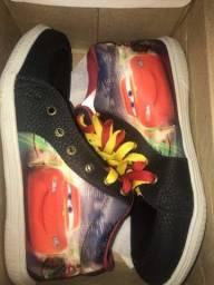 Sapato Infantil Carros