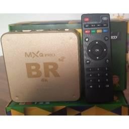 Título do anúncio: Tv Box 4k Pro 5g 16G+256Gb Wifi Android 11.1 Aparelho Para transformar Sua Tv em Smart