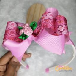 Tiara Infantil Laço Boutique Embutido