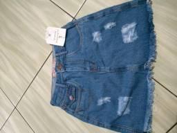 Saia jeans Tam 36