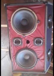 Caixa de som para com módulo A 500 para carro