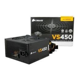 Fonte Corsair VS450 - 450W - 220Volts - NOVA - Loja Física