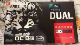 Placa de Vídeo Radeon RX 580, 8GB, GDDR5 256 Bits