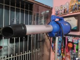 Soprador secador 2 em 1