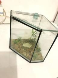 Vendo mini aquário