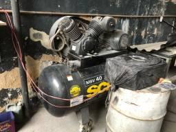 Compressor Schulz 40 pés 350 litros