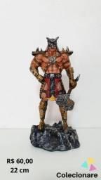 Título do anúncio: Estatueta São Kahn - Mortal Kombat