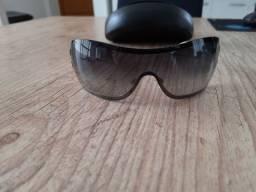 Óculos Chanel degradê cinza, 4155-Q C 124/BG 120 3N