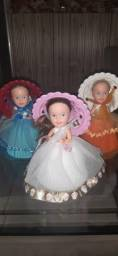 Título do anúncio: 3 Bonecas cupcakes