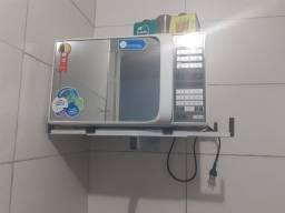 Microondas espelhado midea usado