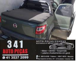 Fiat Strada 3 porta sucata para  peças com nota e garantia