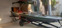 Canoa,motor 25 hp mercury