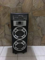 Caixa amplificadora multiuso lenoxx