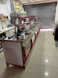Balcão self-service para sorveteria