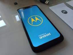 Título do anúncio: Smartphone Moto G7 Play + micro SD 16GB + Película de Vidro (nova) + Capa (nova)