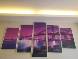 Quadro decoração, ponte do Brooklyn