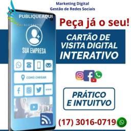 Seu cartão de visita Digital com apenas 1 click
