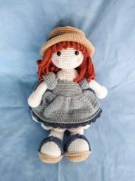 Boneca Lili amigurumi