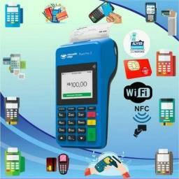 Maquineta de cartão do mercado pago